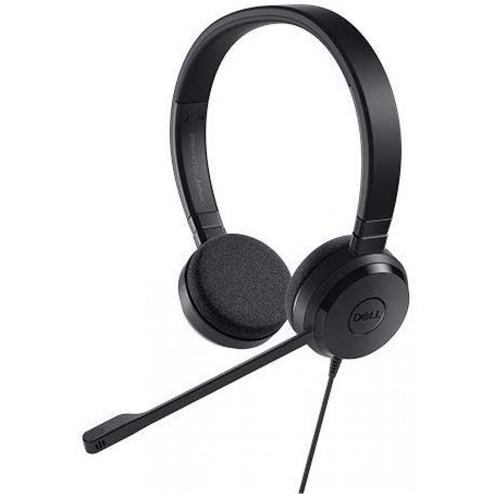 Headset estéreo Dell Pro – UC150 – Skype for Business - 7000Hz -