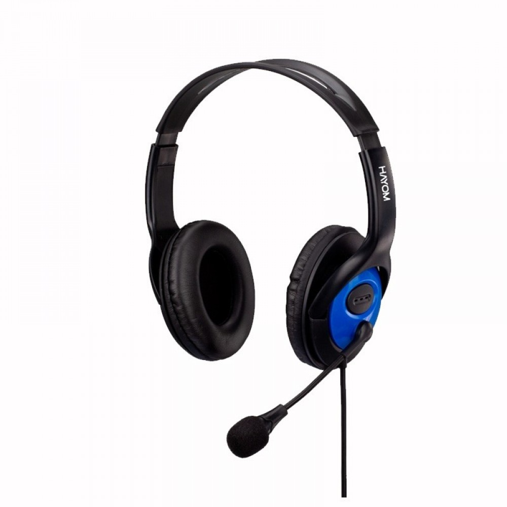 HEADSET OFFICE HAYOM HF2208 PRETO