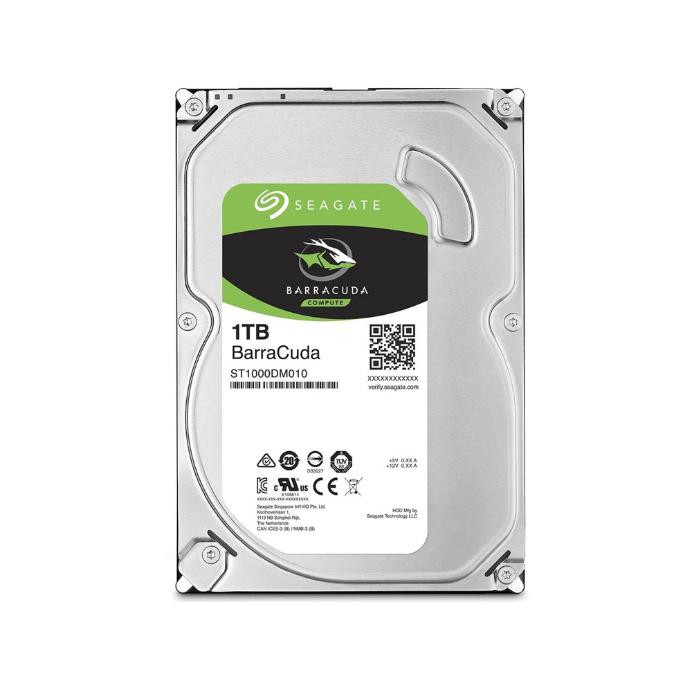 HD Seagate BarraCuda 1TB 7200RPM SATA III